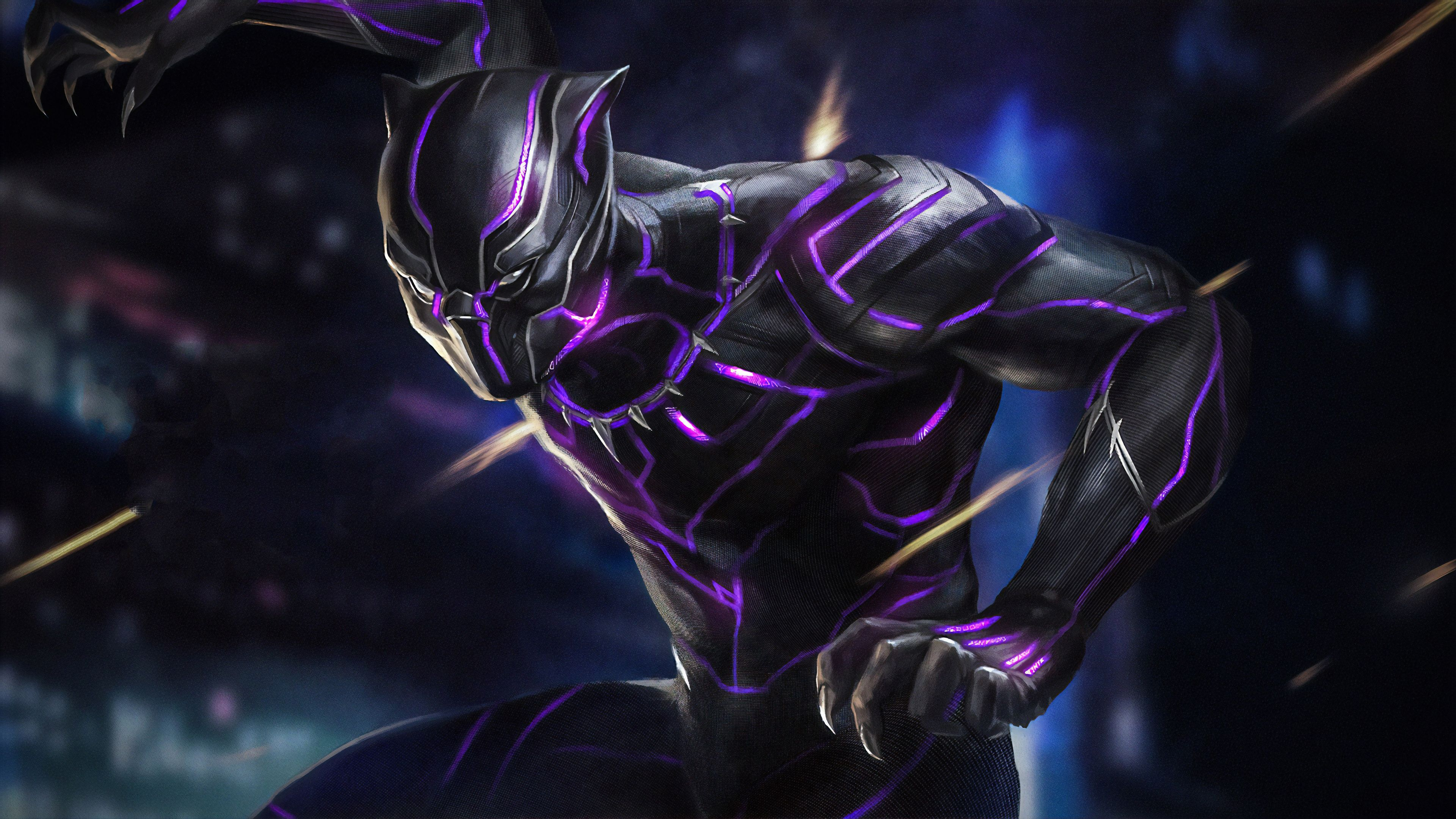 Black Panther New Superheroes Wallpapers Hd Wallpapers Black Panther Wallpapers Artwork Wallpapers Artstat In 2020 Black Panther Hd Wallpaper Black Panther Panther