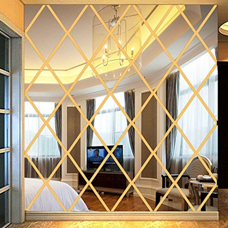 3D Wall Decals, Kimloog DIY Love Acrylic Art Stickers Mirror Living ...
