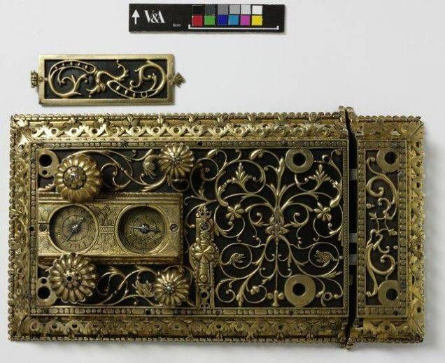 A lock with four turning bolts, John Wilkes, late 17th century.