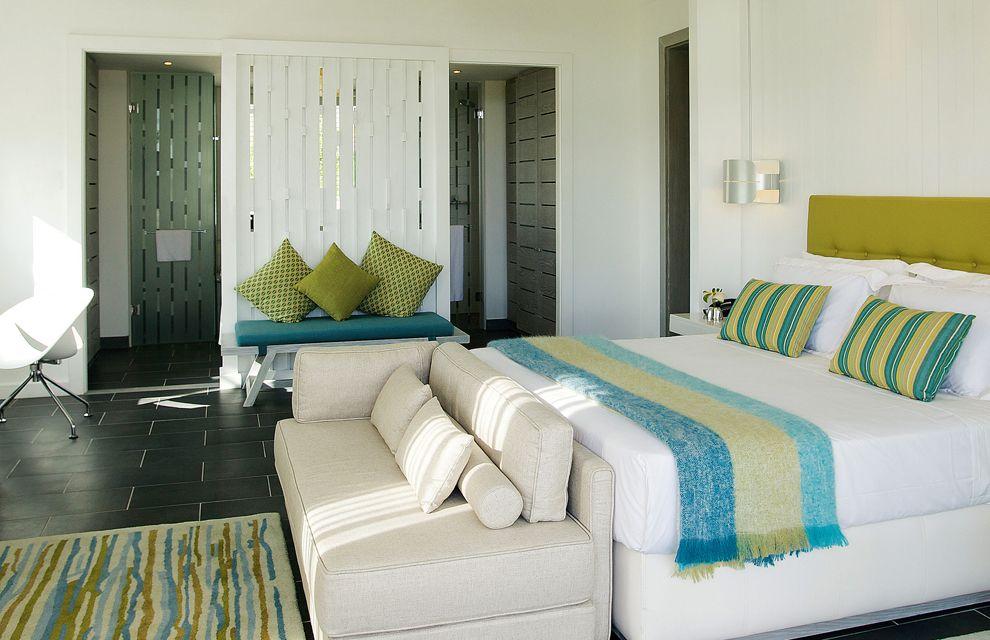 Habitaci n de estilo tropical decoraci n tropical y colonial pinterest complejos - Decoracion para hoteles ...