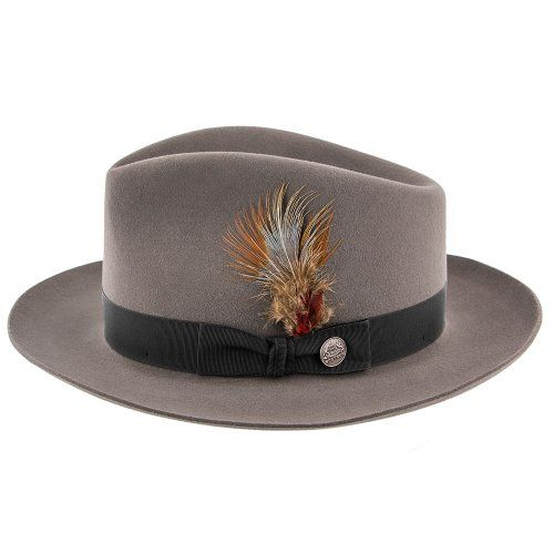 Lowest Price on Chatham - Stetson Fur Felt Fedora Hat - TFCHAT. 9a0cd8c3269