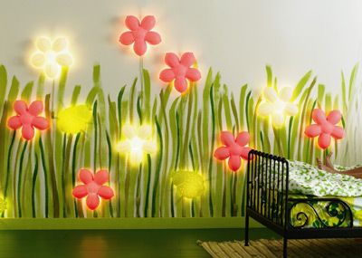 Smila Blomma Kids Wall Lamp from Ikea  Idea paint Flower and