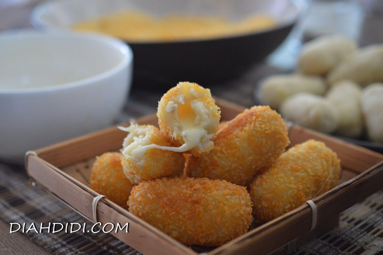 Kroket Kentang Isi Keju Mozarella Resep Masakan Makanan Dan Minuman Resep