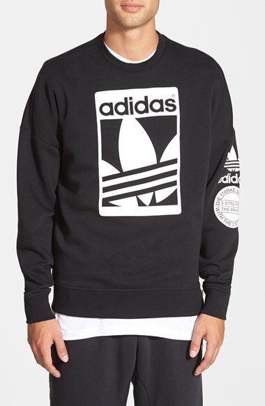 93a061b8f adidas Originals adidas Originals  Street  Graphic Crewneck Sweatshirt  available at  Nordstrom