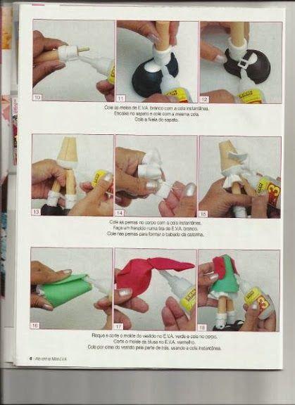 Como fazer a fofucha Chilindrina