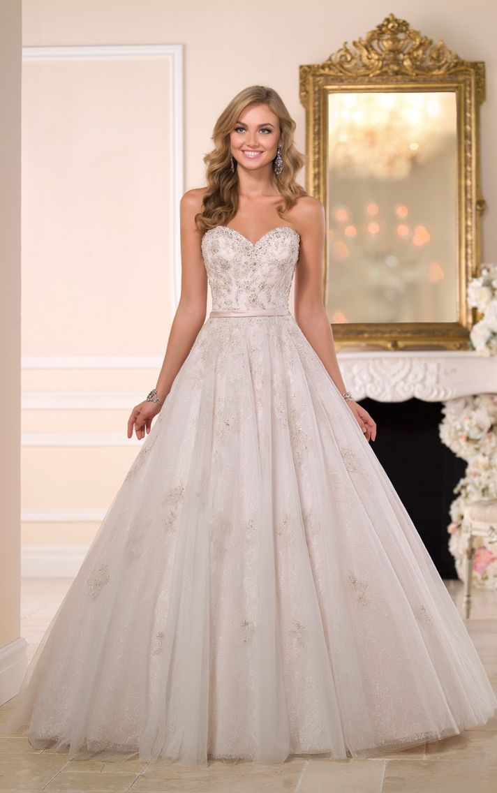 Stella York {SILVER WEDDING DRESSES STYLE 6048 | ♛ Princess Wedding ...