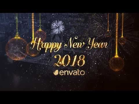 New Year Midnight Countdown Clock 2018 Full HD After ...