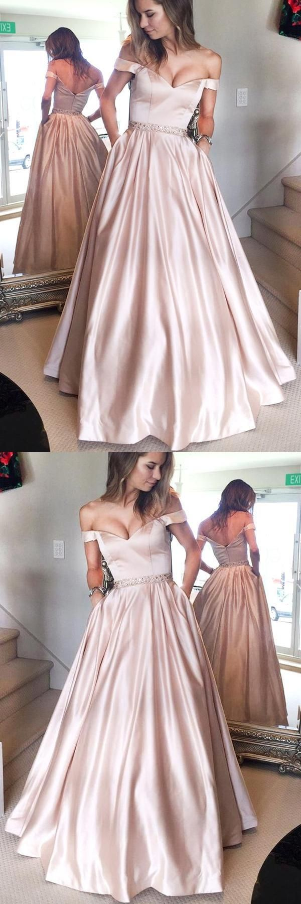 Outlet magnificent pink prom dresses aline prom dresses prom