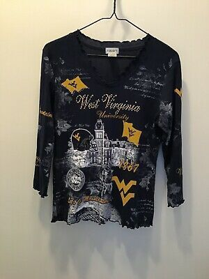 COLLEGE CLASSICS WOMENS SHIRT SZ Small EMBELLISHED WVU MOUNTAINEERS Pre-owned #fashion #sports #mem #cards #fan #shop #fanapparelsouvenirs #collegencaa (ebay link) #wvumountaineers COLLEGE CLASSICS WOMENS SHIRT SZ Small EMBELLISHED WVU MOUNTAINEERS Pre-owned #fashion #sports #mem #cards #fan #shop #fanapparelsouvenirs #collegencaa (ebay link) #wvumountaineers