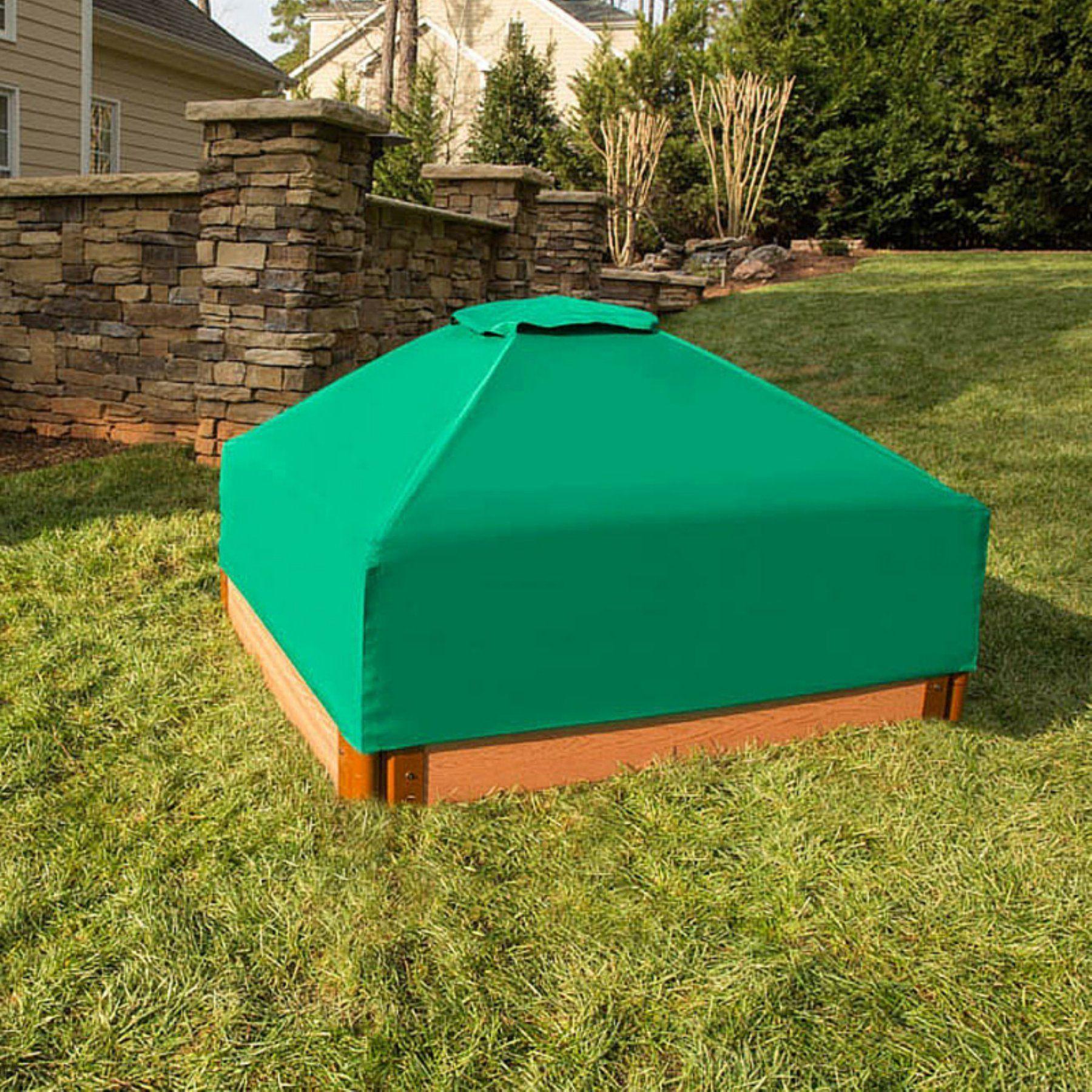 Frame it all square sandbox cover sandboxes for kids