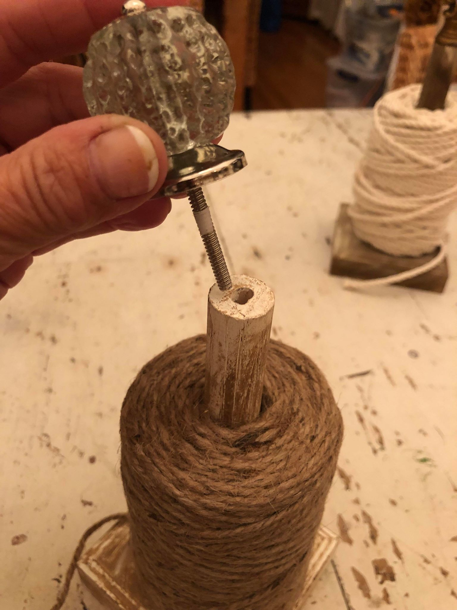 DIY Twine Holder - The Shabby Tree