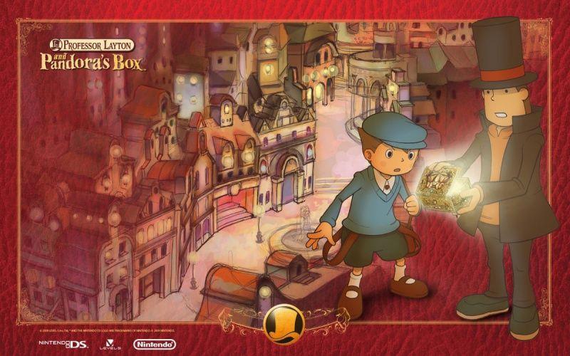 Professor Layton and the Diabolical Box Concept Art