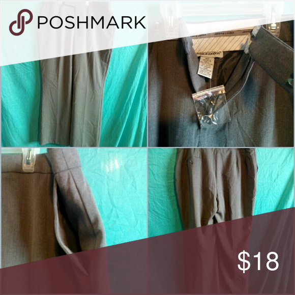 Jessica London NWOT! Jessica London dress pants size 14P. 62% polyester 32% rayon 6% spandex. Jessica London Pants