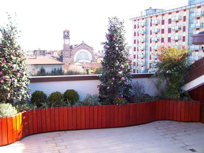 Sand italia fioriera per terrazzo