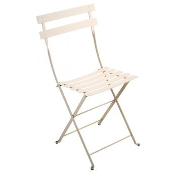 Bistro Metal chair, linen