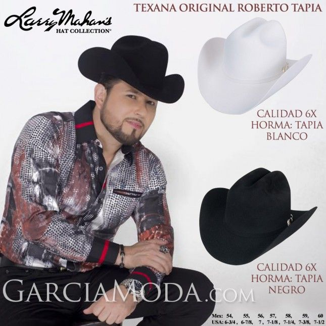 cf233b6b08 Texana Original Horma Roberto Tapia Calidad 6X