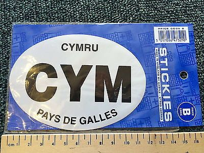 Welsh oval car #sticker cym #wales cymru pays de galles holidays #caravan bike bn,  View more on the LINK: 	http://www.zeppy.io/product/gb/2/171930585750/