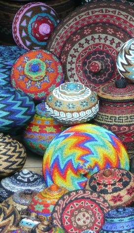 Colourful Baskets Bali Ubud Handicrafts Market C Collineige Com