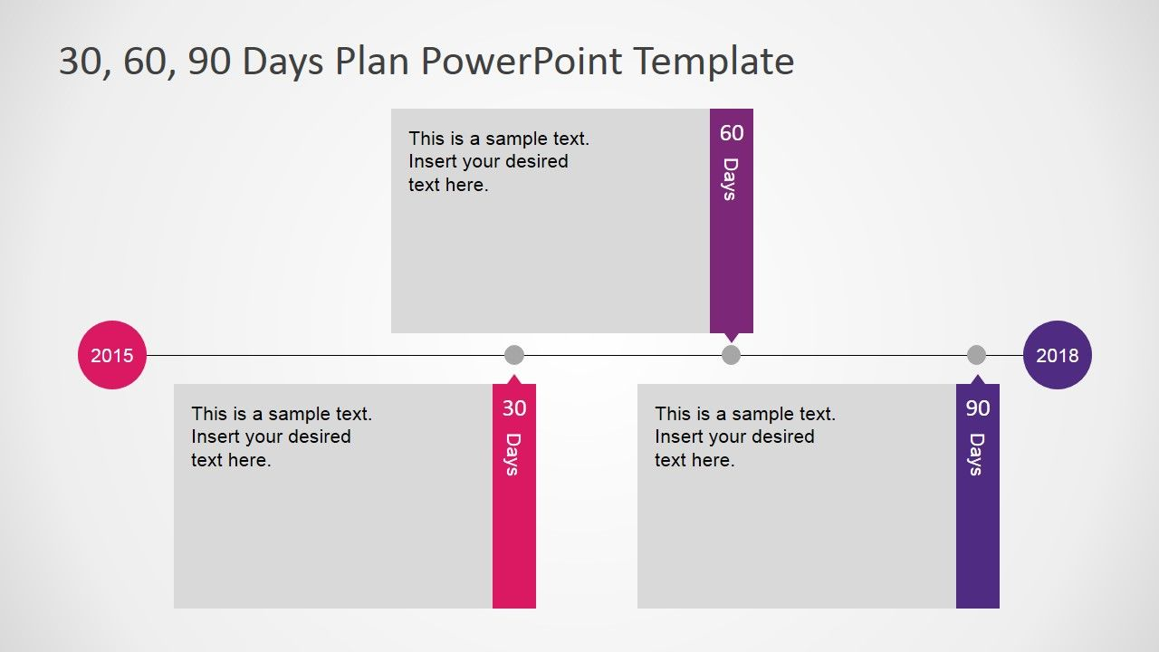 Powerpoint Timeline For 30 60 90 Days Plan 90 Day Plan Business Plan Template Day Plan