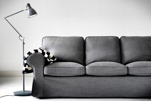 The Death of the White Couch Ektorp sofa, Ikea fans and White sofas - ikea ektorp gra