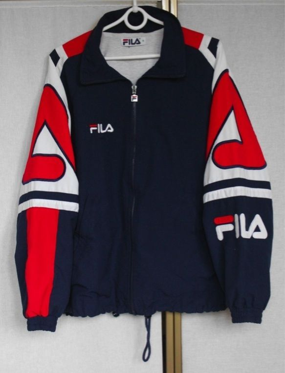Vintage 90s Fila Shell Track Jacket ML | Vintage outfits