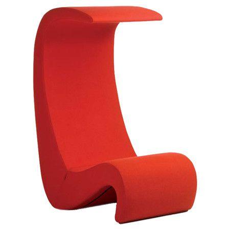 Amoebe Highback Side Chair by Verner Panton
