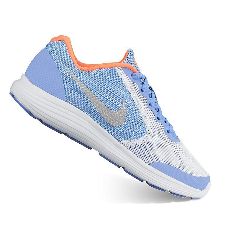 46eb2a1f8391 Nike Revolution 3 Girls  Running Shoes