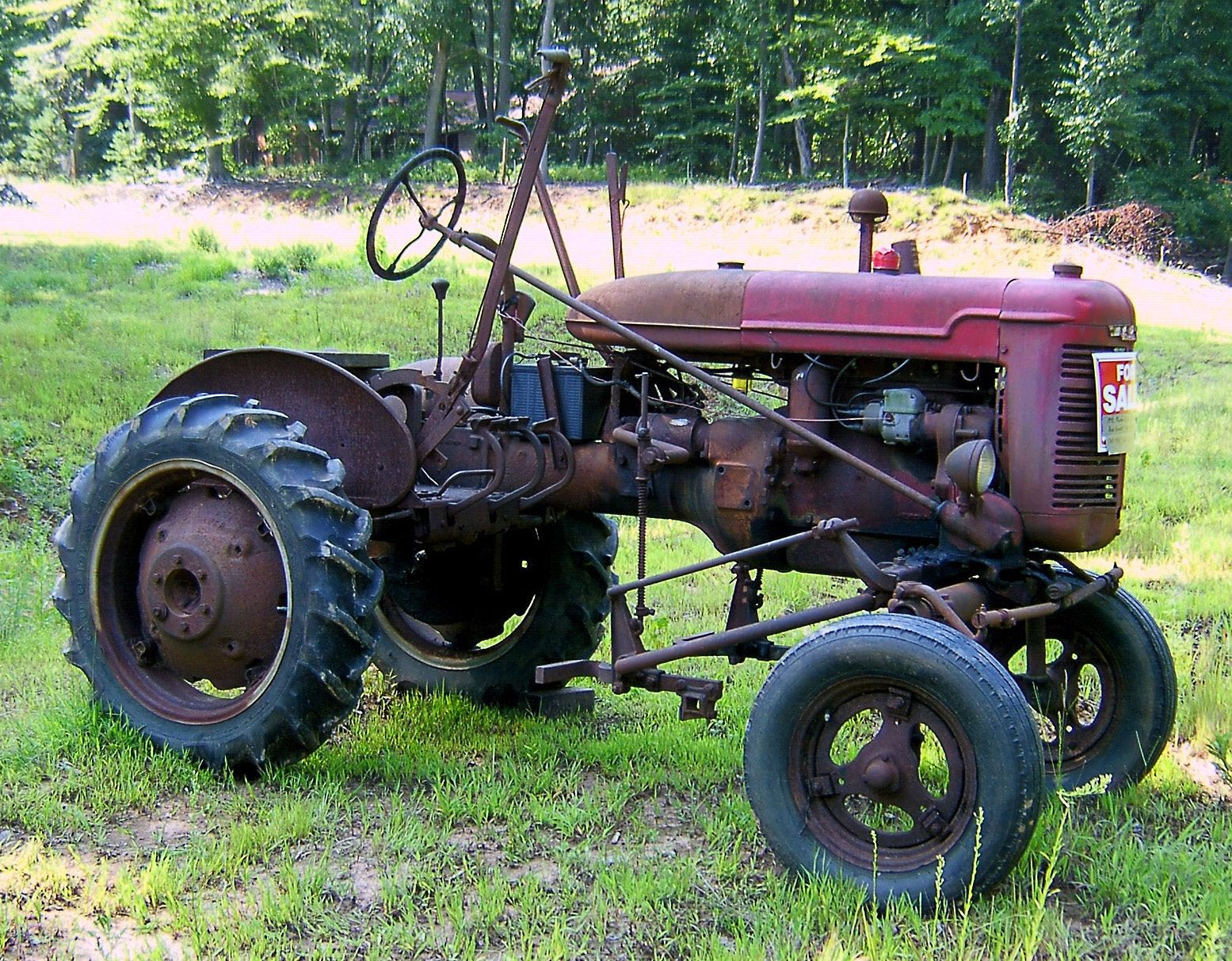Farmall Model Super-A 1950-1954 | Antique tractors for sale, Tractors,  Antique tractors