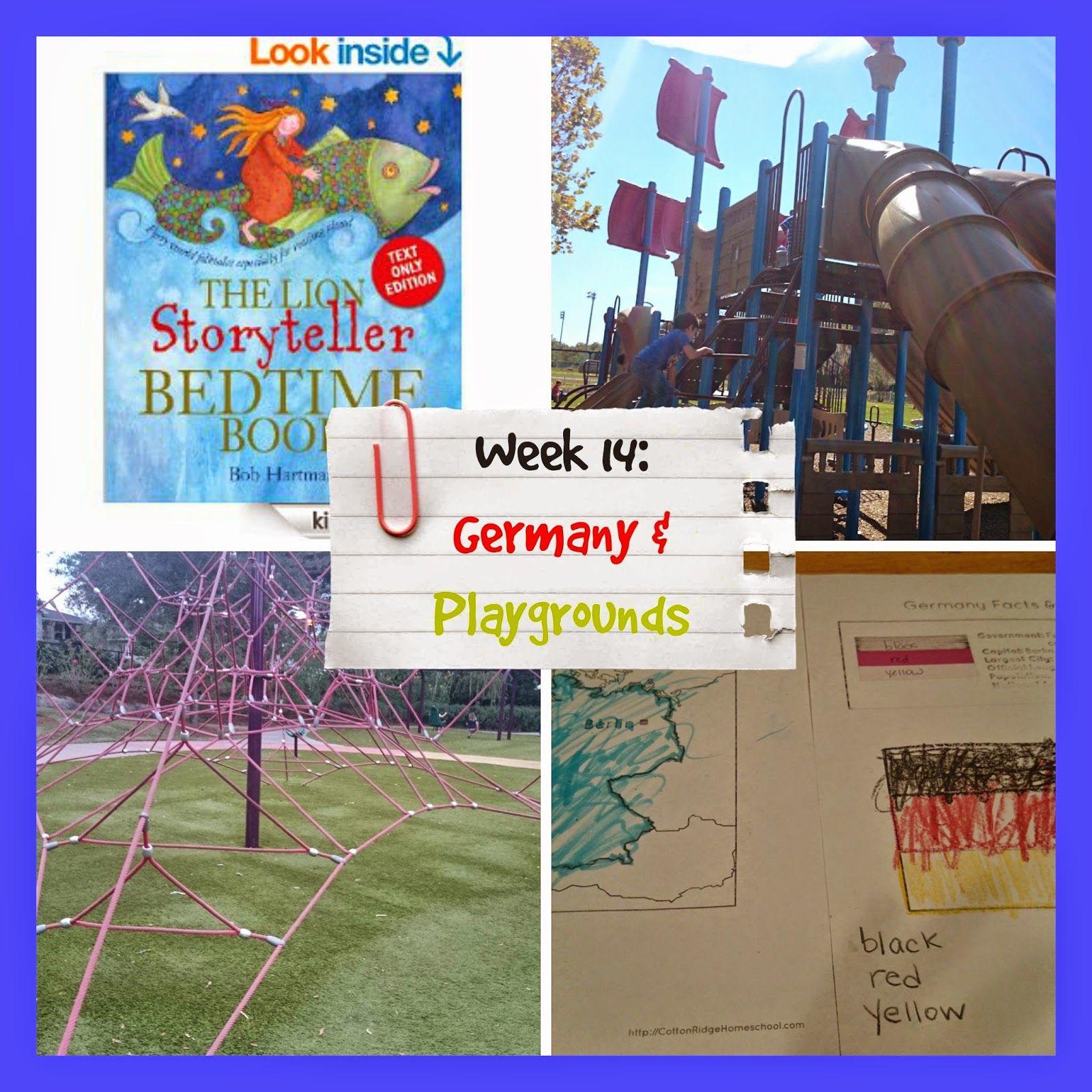 Raising Samuels Homeschool: Week 13: Germany and Playgrounds (Homeschool Kindergarten and Preschool Learning)