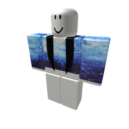 ad62c431a9ed1 Galaxy Crop Top With Black Hair Extensions - ROBLOX