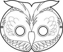 owl mask template - Google Search | It\'s an owlsome party ...