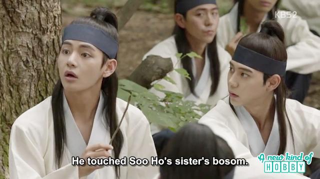 rumors about ban ryu and so hoo sister - Hwarang: Episode 8