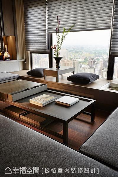 Asian style window seat designs