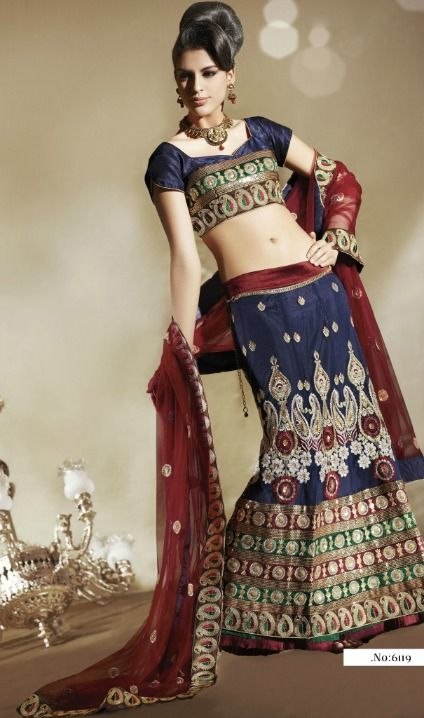 Traje hindu tradicional mujer