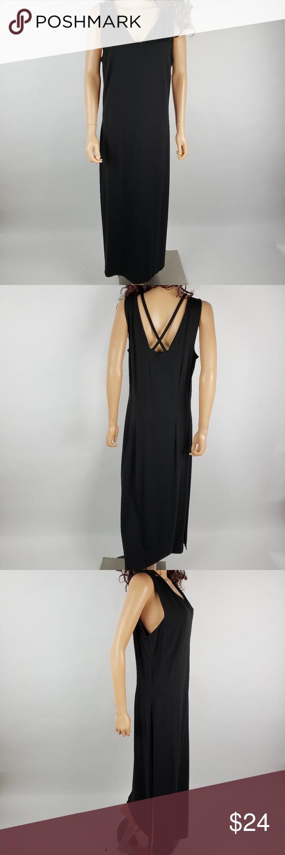 Talbots Black Maxi Dress Black Maxi Dress Clothes Design Talbots Dress [ 1740 x 580 Pixel ]