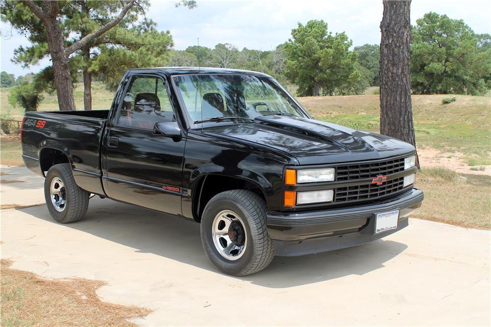 1990 Chevrolet 1500 Picku Barrett Jackson Auction Company Sport Truck Chevy Pickup Trucks Chevy