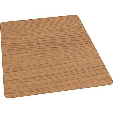 36 Quot X 48 Quot Laminate Chair Mat For Hard Floors Chestnut