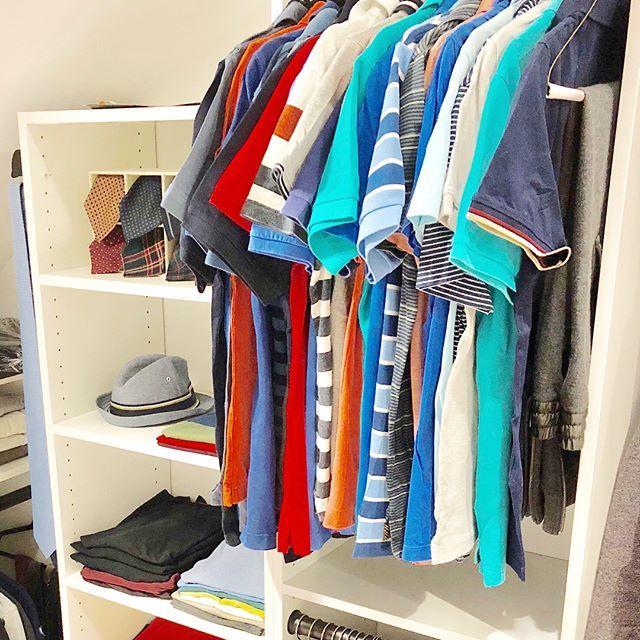 Menu0027s Closet Organization   Professional Organizing   Closet Goals   Closet  Shelves   Custom Closet  