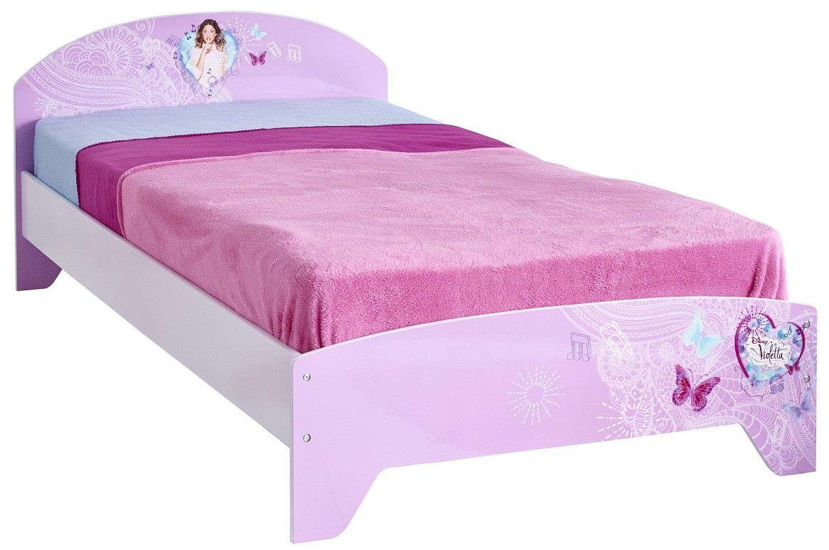lit fille enfant violetta 90x190 litenfant litfille litvioletta litdisney lits enfants. Black Bedroom Furniture Sets. Home Design Ideas