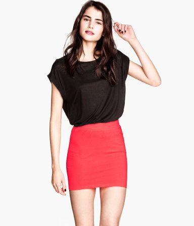 Short Jersey Skirt - from H
