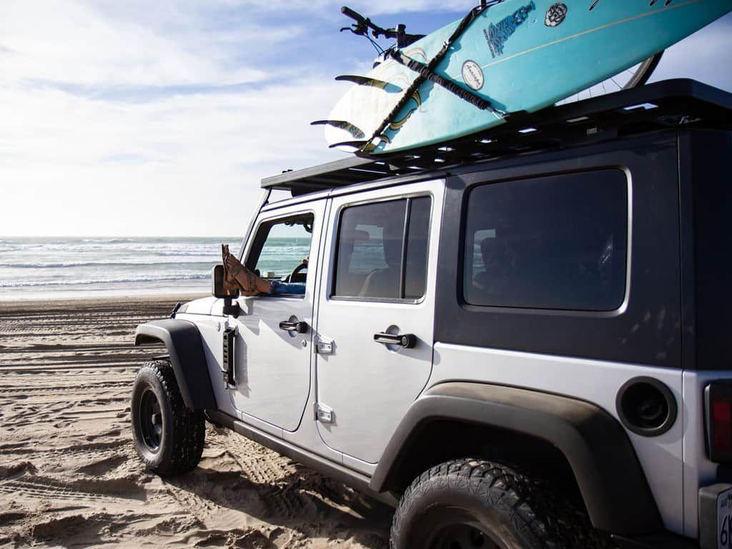 Jeep Wrangler JKU 4 Door (20072018) Extreme Roof Rack Kit