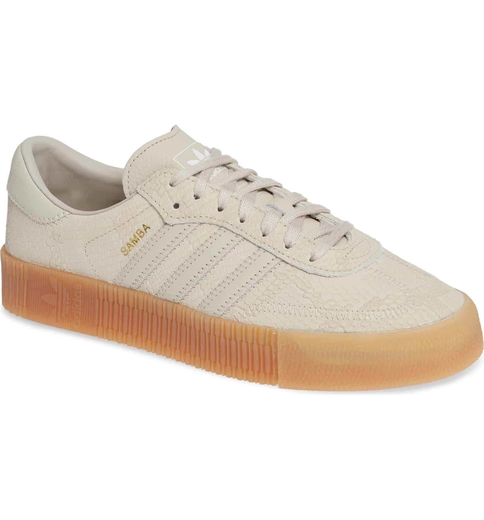 e26e07bb Samba Rose Sneaker, Main, color, CLEAR BROWN/ CLEAR BROWN/ GUM ...