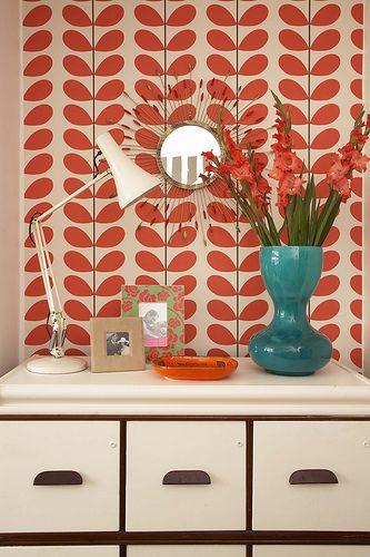 Orla Kiely wallpaper Home Decor Pinterest Tapeten, Friedrich