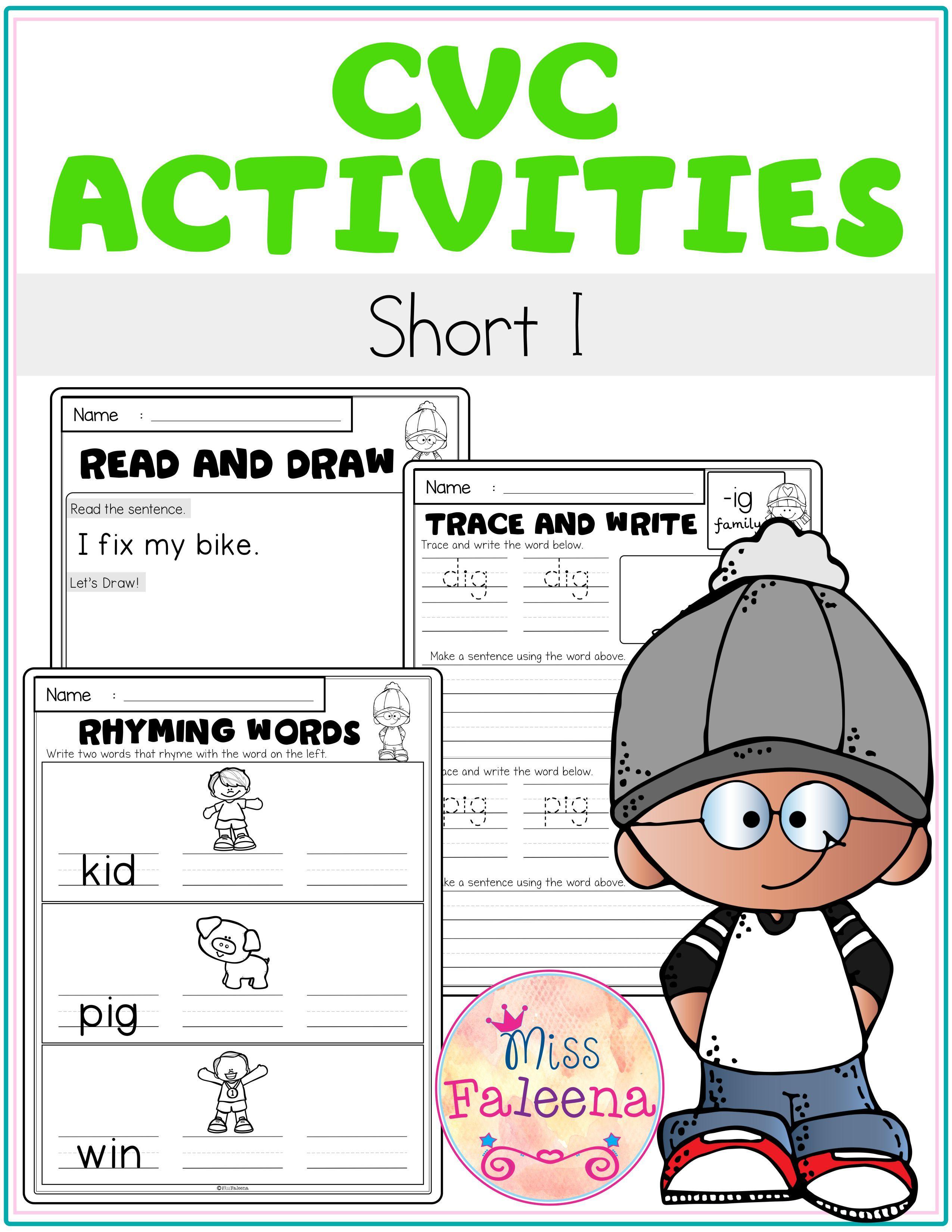 Cvc Activities Short I