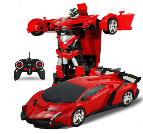 Bumblebee Transformer Robot Rechargeable Remote Control Car with Light /& Sound