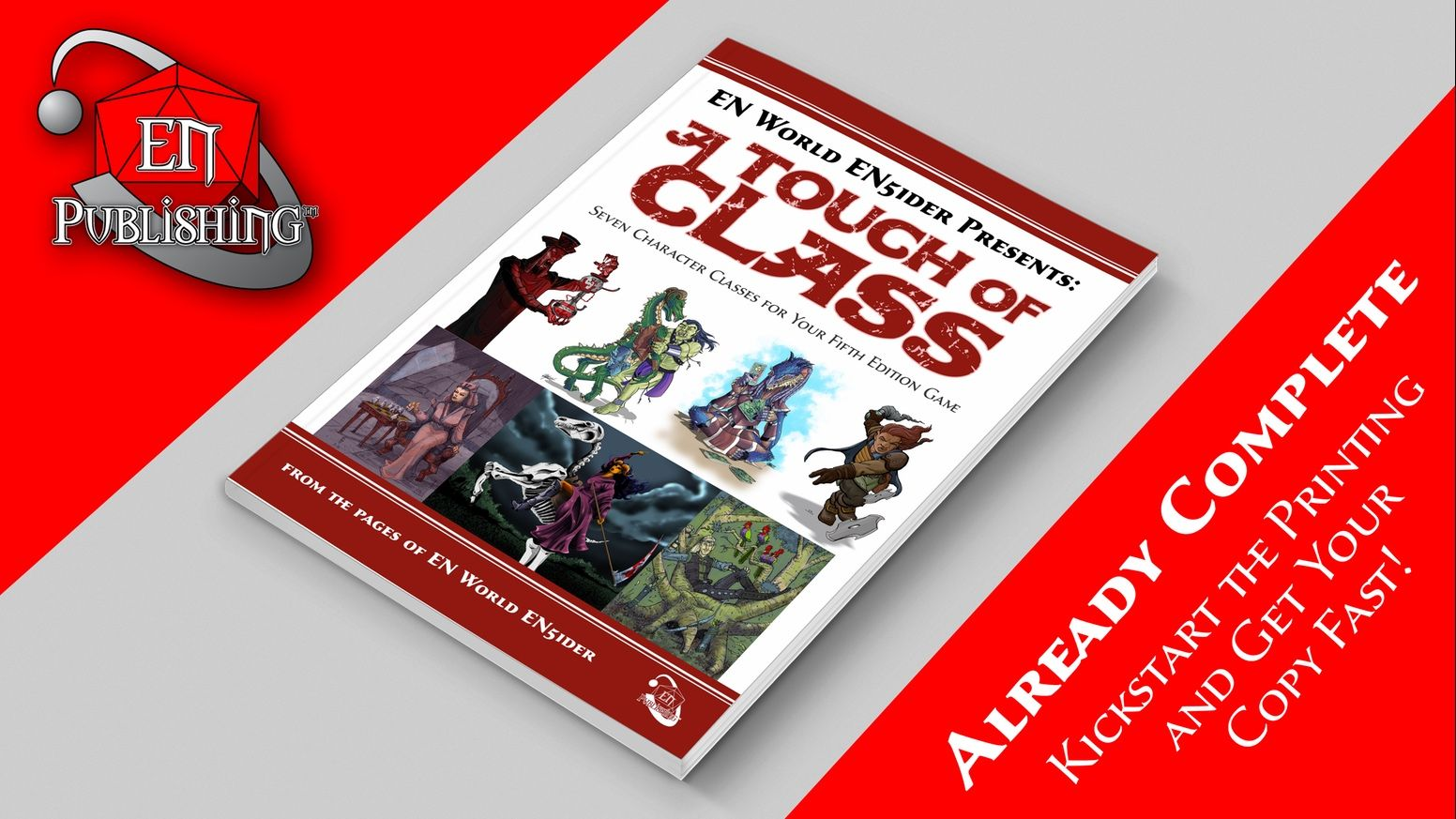 Meet the full alchemist, cardcaster, diabolist, feywalker, morph, noble, and occultist classes for your 5E games in this 70-page book!