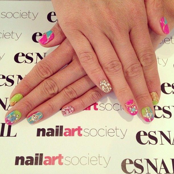 Nice Nail Art Society Nas Tia Nails Nail Designs I Love