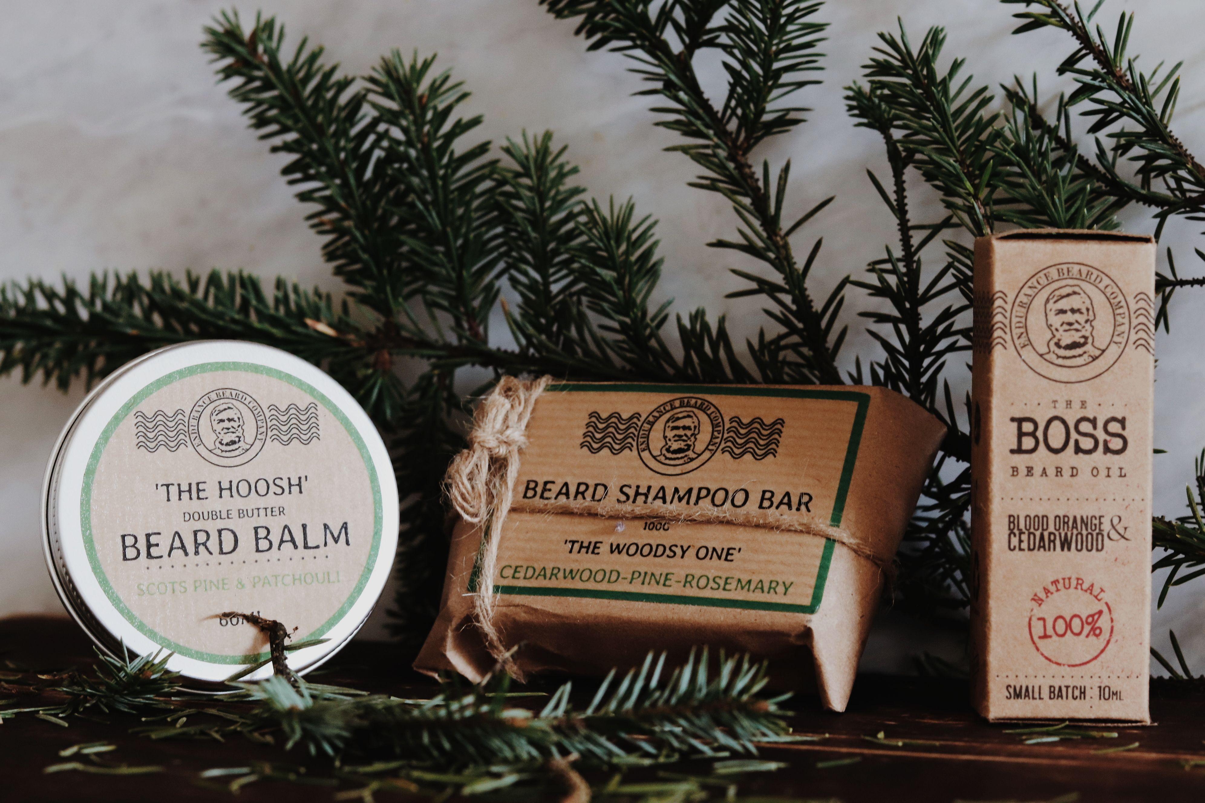 The Beard Box Gift set in 2020 Solid shampoo bar