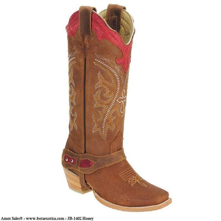 9302d5a5413 JB-1402 - Botas Vaqueras para Mujer Botas Vaqueras Para Dama, Botas Cowboy  Mujer