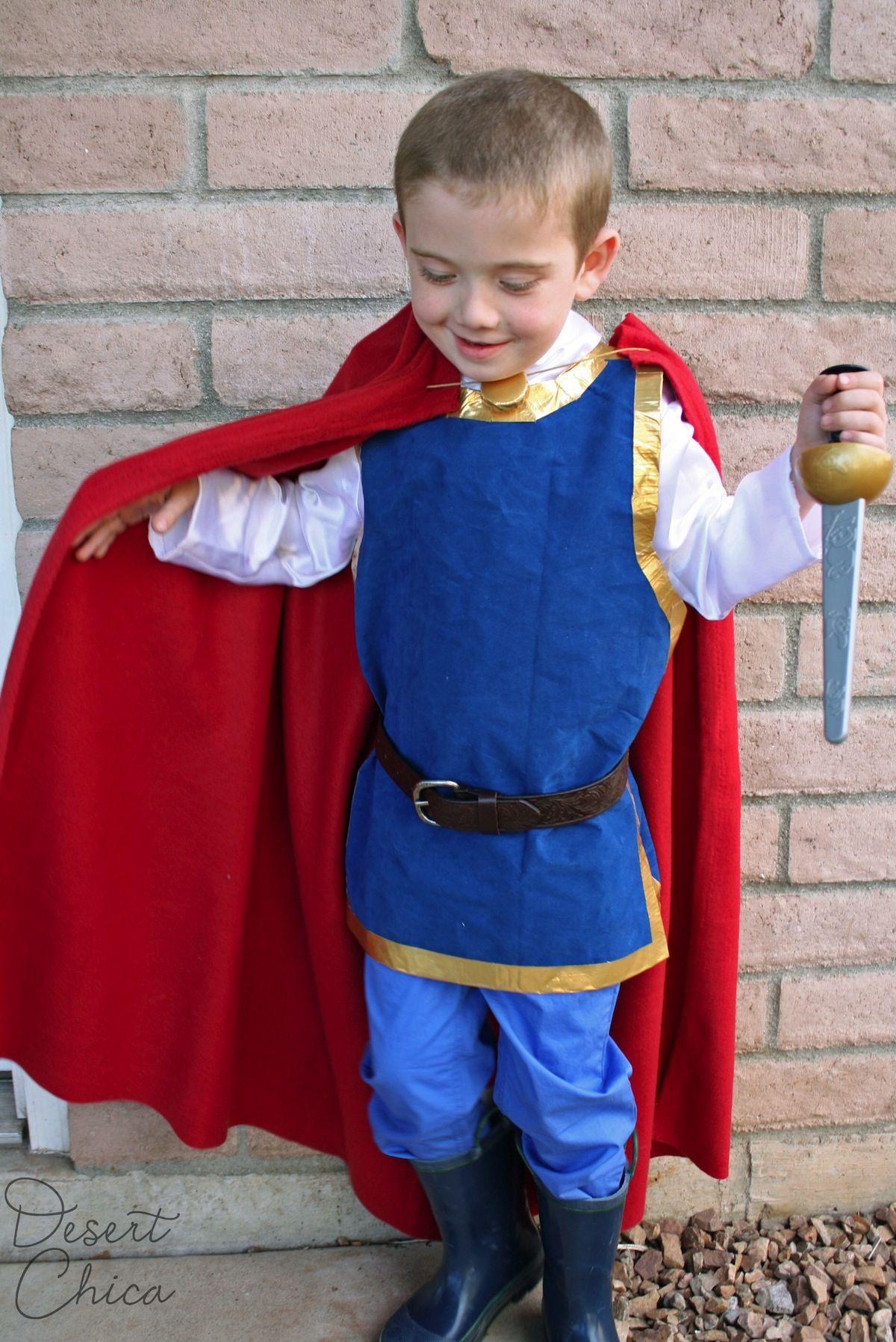 Easy DIY Snow White Prince Costume Snow white prince